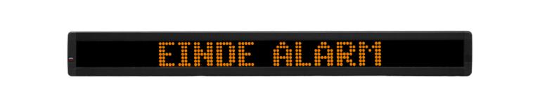 Alpha 220C (einde alarm)